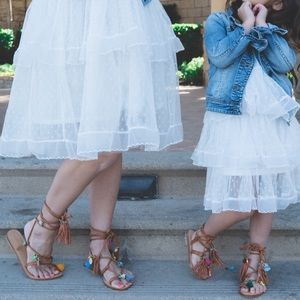 Matching Mommy and me sandals
